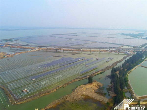 Fishery-solar Hybrid Power Station