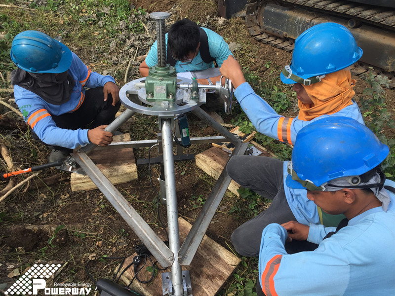 Philippines solar farm 120MW Pullout Test
